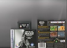 STAR WARS APPRENTICE OF THE FORCE GAMEBOY ADVANCE / GBA /  DS
