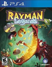 New! Rayman Legends (PlayStation 4, 2014) - U.S. Retail Version!