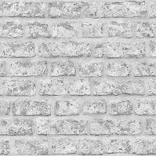 Arthouse Brique Rustique Motif Papier Peint Effet Faux Vrai En Relief Pierre