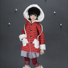 "Dollmore 17"" 1/4 BJD doll clothes outfits  MSD - Tamore Coat (Red)"