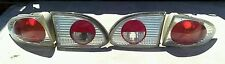 CHEVY CAVALIER TAIL LIGHTS COMPLETE ALL 4 PIECES EUROPEAN STYLE CLEAR 2000-2002