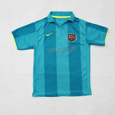 Nike FC BARCELONA Camp nou Henry 14 Replica Top Football T-Shirt Sz 16 Yrs