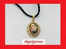 HINDI DEITY HANUMANA PENDANT LORD HANUMAN GOD NECKLACE BAJRANG BALI BLING CHARM