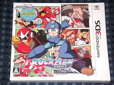 3DS CAPCOM Rockman Classics Collection w/BONUS DLC 6 Games in 1 MEGAMAN JAPAN FS