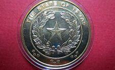 "TEXAS,  ""THE  ALAMO"" COMMEMORATIVE COIN, The LONE STAR STATE Large Coin, UNC."
