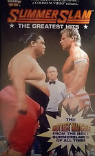 WWF Summerslam The Greatest Hits 1994 VHS Orig WWE Wrestling