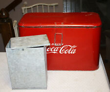1950's Vintage Coca Cola Progress A2 Cooler Ice Chest Coke