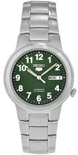 SEIKO MEN SNKA17K1 SEIKO 5 WATCH AUTOMATIC GREEN DIAL 100% Brand New without Box