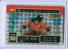 JAPAN DRAGONBALL AMADA PP Carte Card No.174 GOKU