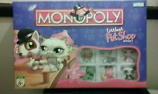 2007 Monopoly Little Pet Shop Edition Board Game 100% Complete