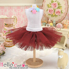 ☆╮Cool Cat╭☆150.【PC-08】Blythe/Pullip Tulle Ball Mini Skirt # Chocolate