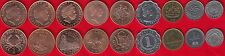 Different countries set of 9 coins 1992-2006 UNC