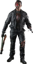 TERMINATOR 2 ~ T-800 Battle Damaged 1/4th Scale Action Figure (Enterbay) #NEW