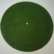 "Victor Phonograph SMALL LIGHT GREEN Turntable Felt - Round (fits 10"" diameter)"