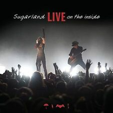 "Sugarland-LIVE On the inside (CD+DVD) Jennifer Nettles ""New"" {FREE SHIPPING}"