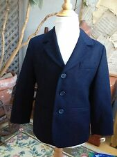 MAGIL Italy Blazer Jacket SUIT COAT Navy Wool SPECIAL EVENT Wedding 4 A $195