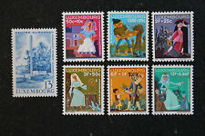 Timbres / Stamp LUXEMBOURG Yvert et Tellier n°692 à 696 n** (cyn13)