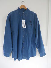 Pokerstars  Denim Shirt  Original Launch merchandise. New EXTRA LARGE