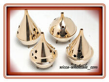 1 Assorted Brass Censer Incense Charcoal Cone Resin Burner and FREE SHIP