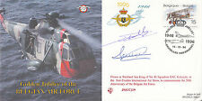 CC)20b Golden Jubilee Belgian Air Force Lockheed F 16 Cover Flown in F 16 Signed