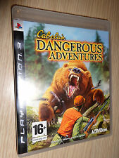 GIOCO PS3 PLAYSTATION 3 CABELA´S DANGEROUS ADVENTURES VERSIONE ITALIANA