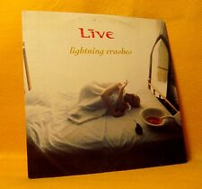 Cardsleeve Single cd LIVE Lightning Crashes 1TR 1995 alt pop rock