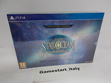 STAR OCEAN INTEGRITY AND FAITHLESSNESS COLLECTOR'S EDITION - SONY PS4 - NEW