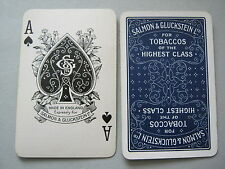 PLAYING CARDS VINTAGE SALMON & GLUCKSTEIN HIGHEST QUALITY TOBACCO SPECIAL ACE