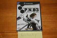 P.N.03 (Nintendo GameCube) - NEW SEALED Y-FOLD, MINT, RARE CAPCOM!