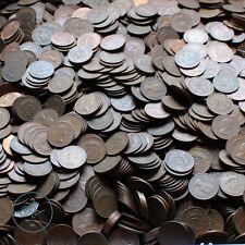 UK Great Britain British Pre-Decimal 1/2d Half Penny One Pound Lb Lot - Coin