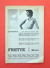 D204 - Advertising Pubblicità - 1953 - FRETTE CAMICIE MONZA