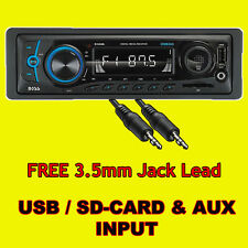 STEREO AUTO unità DI TESTA RADIO LETTORE MP3 / USB / SD / AUX / FM / iPod / iPhone No cd