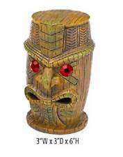 "Penn Plax Tiki with RUBY EYE Fish Aquarium Ornament 6"" RR1204"