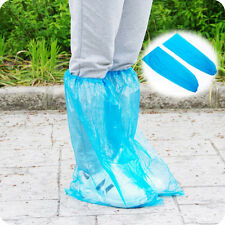 20pcs Household Rain Waterproof Disposable Shoe Covers Overshoes Boot Covers