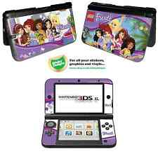 Lego Friends Vinyl Skin Sticker for Nintendo 3DS XL