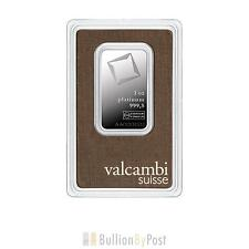 VALCAMBI 1oz PLATINUM BAR