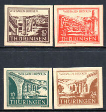 GERMANY 1946 SOVIET ZONE Thuringia: Reconstruction Issue Fine MINT Set SG.RF13/6
