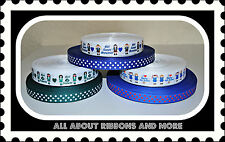 **HOT SALE**12 YARDS MIXED GIRL SCOUTS AND POLKA DOTS GROSGRAIN RIBBON