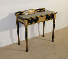 ANTIQUE French 1920S JB Van Sciver Chinoiserie One Drawer Server Desk Stand