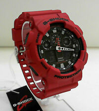 NEW CASIO G-SHOCK BIG CASE WORLD TIME WATCH GA-100B-4A