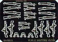 Extratech EXV72013 1/72 PhotoEtch British WWII Small Arms