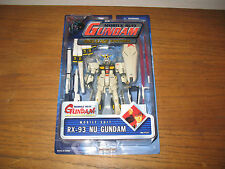 Gundam Action Figure RX-93 Nu Deluxe Bandai Char's Counter Attack MOC