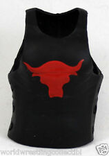 NEW WWE Mattel Loose Accessory The Rock Action Figure Red Bull WWE T-Shirt Lot