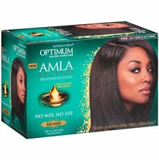 Optimum Amla Legend Rejuvenating Ritual No Mix No Lye  Relaxer For All Hair Type