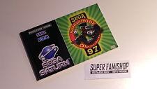 La Notice pour le jeu Sega worldwide soccer 97 / pour Console Sega Saturn