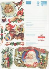 GB Stamps Aerogram / Air Letter APS92 - 1st NVI Traditional Christmas Issue1992