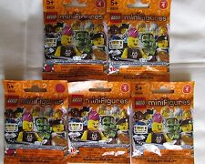 LEGO (5) BLIND RANDOM BAGS MINIFIGURES SERIES 4 SHIPPING W/TRACKING# RETIRED
