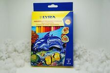 LYRA AQUARELLE COLOURED PENCILS 36 PIECE WATER COLOR ITALY