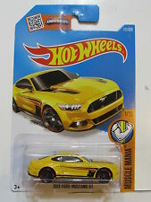 HOT WHEELS 2016 MUSCLE MANIA - 2015 FORD MUSTANG GT  #1/10