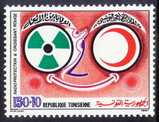 Tunesia 1987 MNH 1v, Red Cross, Radio Protection, Entertainment  - Rs95